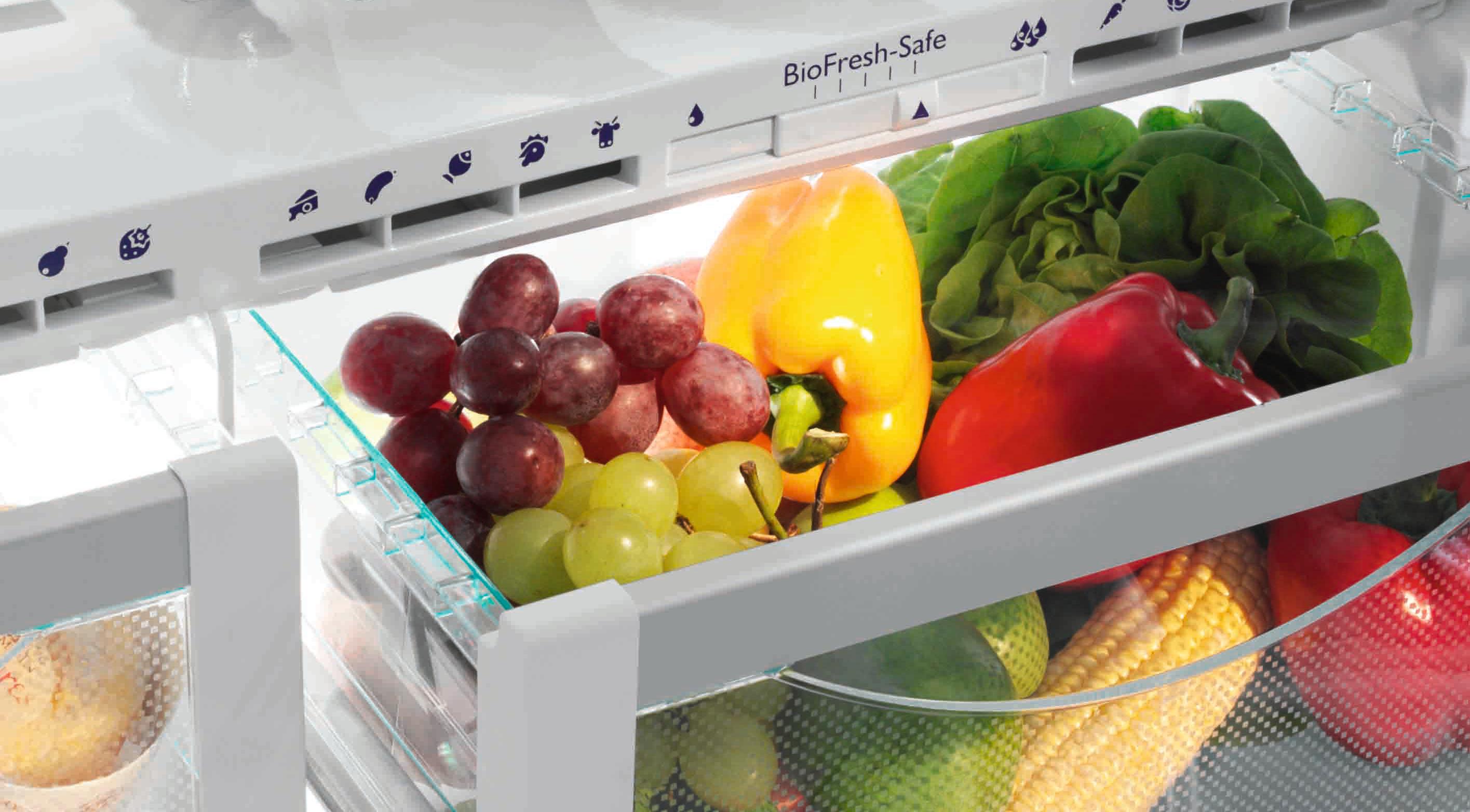 Quali alimenti vegetali si possono conservare in frigo?