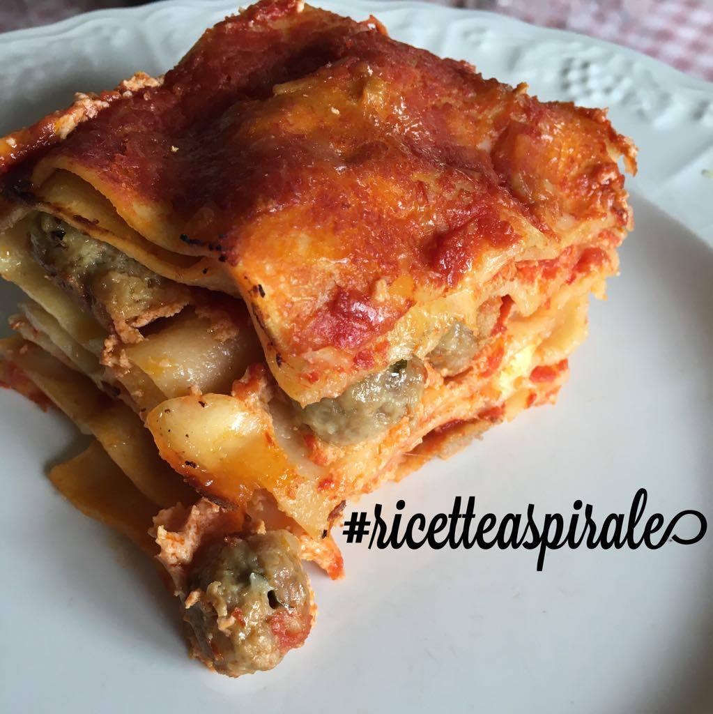 Lasagne alla napoletana con polpettine
