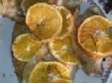 Filetti di branzino all'arancia