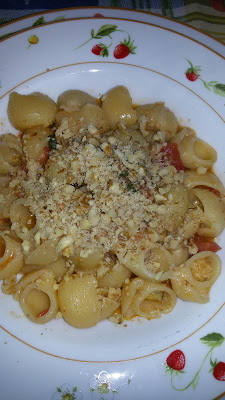 pasta con zucchine e noci