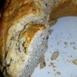 Roccio alle olive e noci alla farina di Kamut