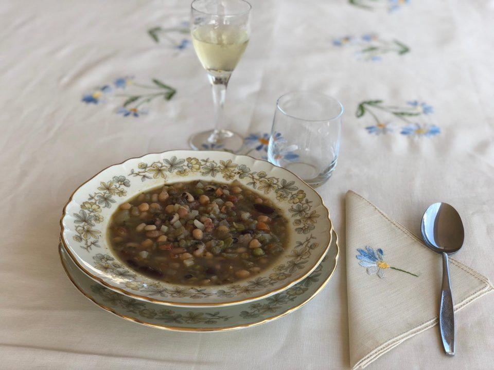 minestrone campagnolo ai legumi