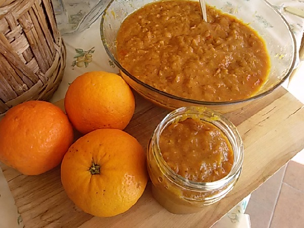 marmellata di arance di pompei