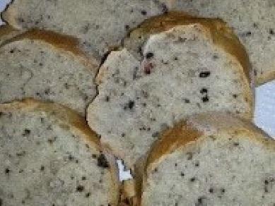 Pane alla fecola con olive