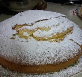 torta con le arance di Sicilia