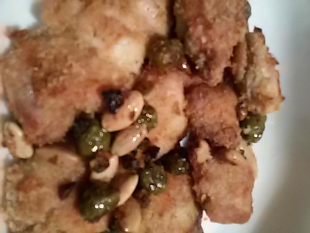 spezzatino croccante di pollo al forno