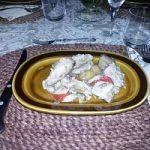 Spezzatino di pollo in giardiniera