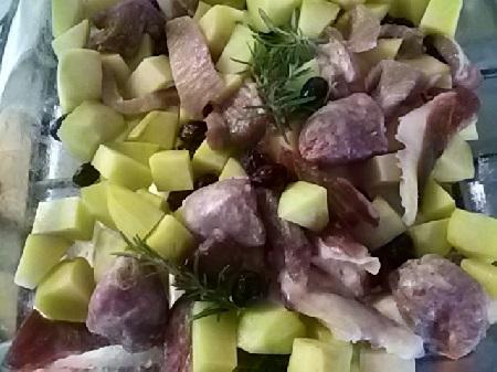 arrosto di maiale con patate