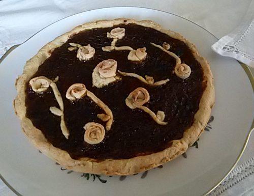 Crostata alla vaniglia