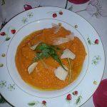 Vellutata di carote al limone