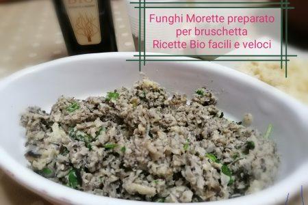 Salsa di Funghi morette