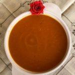 Zuppa di zucca coloratissima