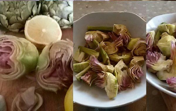 carciofi al limone