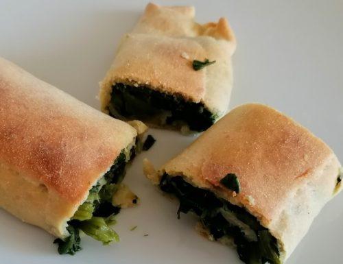 Torcolo agli spinaci con 3 Farine