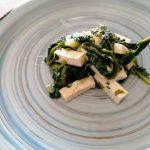 Tofu strapazzato agli spinaci