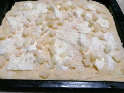 pizza ai formaggi con lievito madre