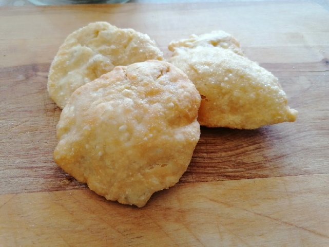 frittelline con pasta di pane