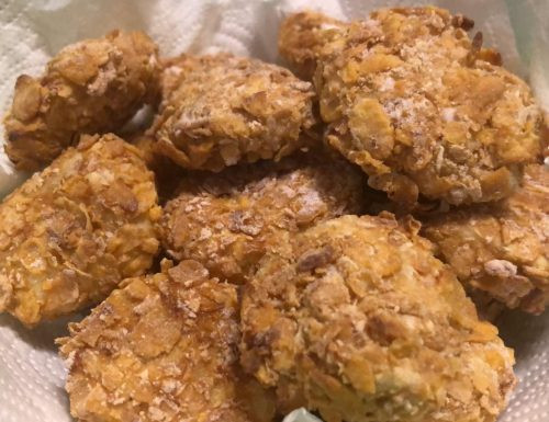 Nuggets di pollo al forno