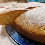 Torta morbida al cocco e arancia rossa di Sicilia IGP