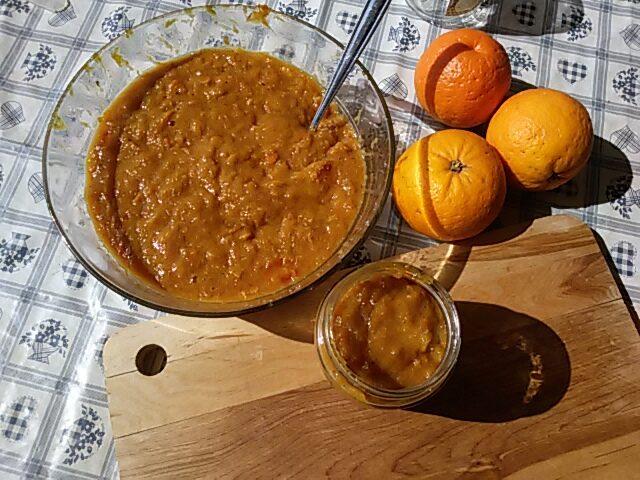 marmellata di arance non trattate