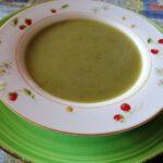 Vellutata di asparagi selvatici/una vellutata con i fiocchi