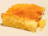 Torta cremosa di mais e parmigiano reggiano