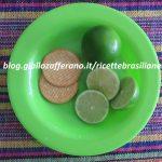 Torta di lime con pasta di biscotti