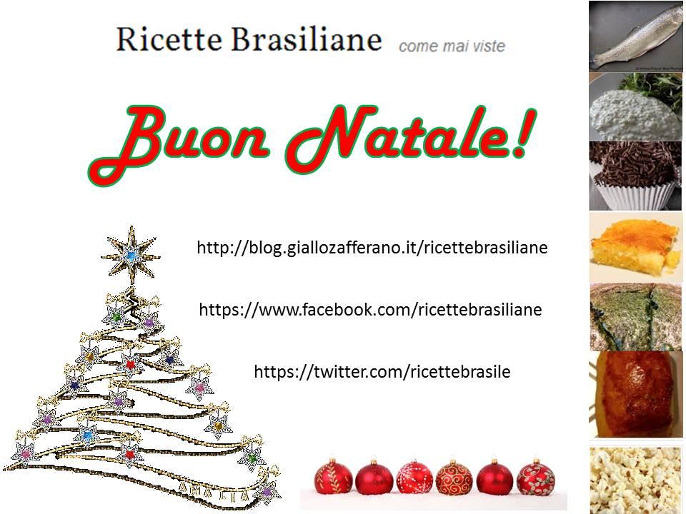 ricette brasiliane natal 2014