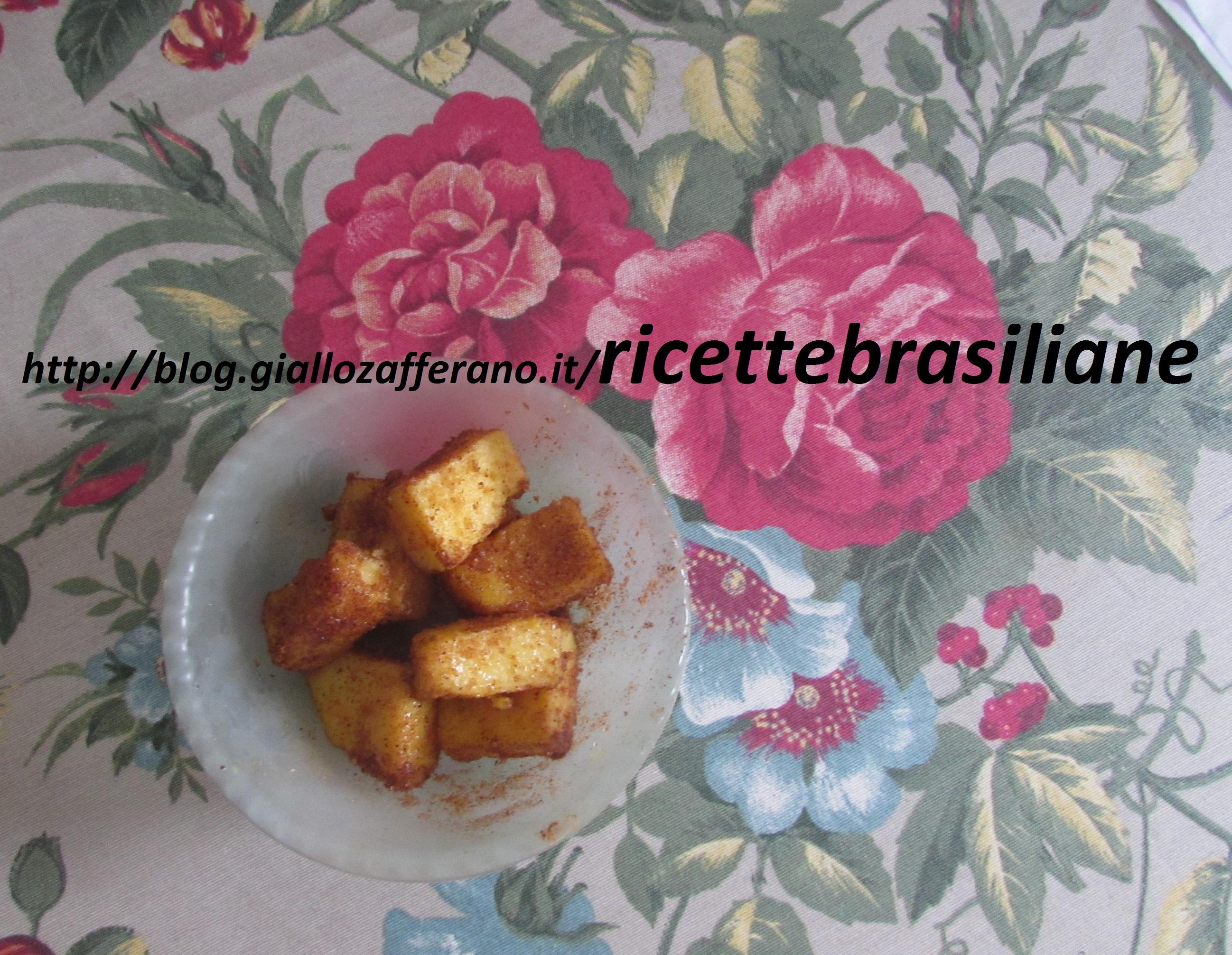Polenta con zucchero e cannella, ricette brasiliane