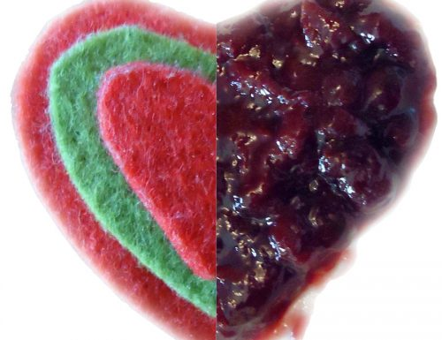 Una marmellata di ciliegie fatta con il cuore!