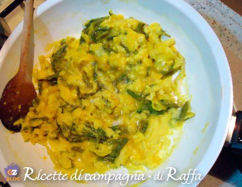 Uova strapazzate con asparagi selvatici… un classico di famiglia!