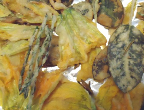 Fiori di zucca fritti & C.