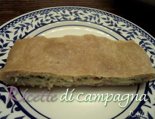 Pizza farcita di Monia con fiori di zucca, zucchine…