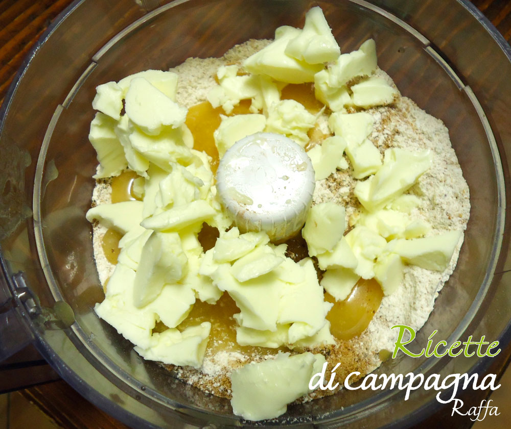 biscotti di Pan di zenzero con farina integrale e zucchero di canna - preparazione