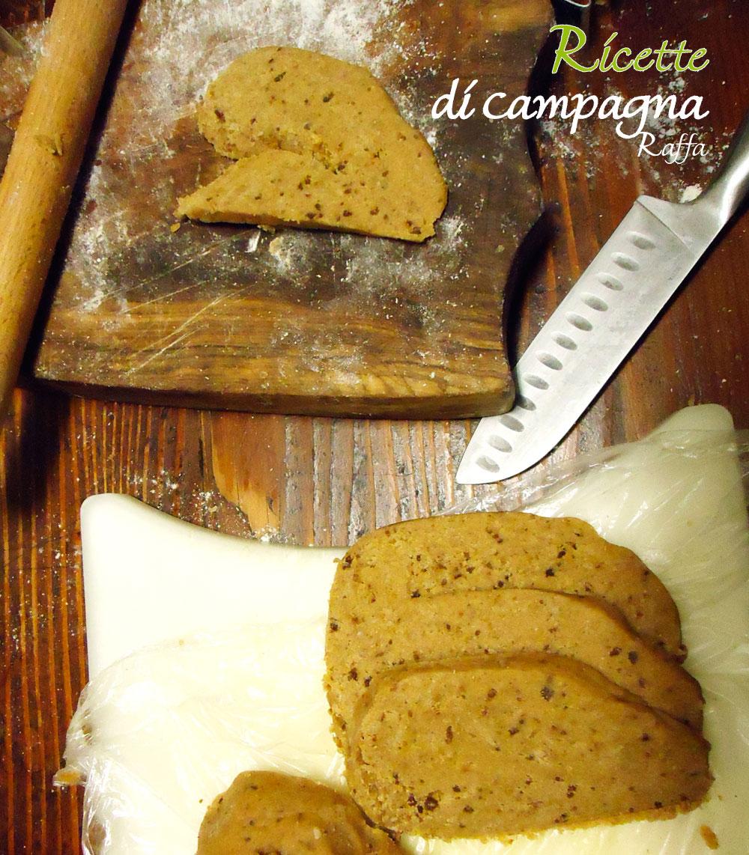 biscotti di Pan di zenzero con farina integrale e zucchero di canna - sfoglia