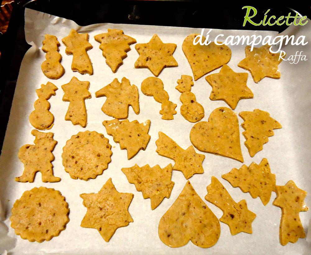 biscotti di Pan di zenzero con farina integrale e zucchero di canna - forme
