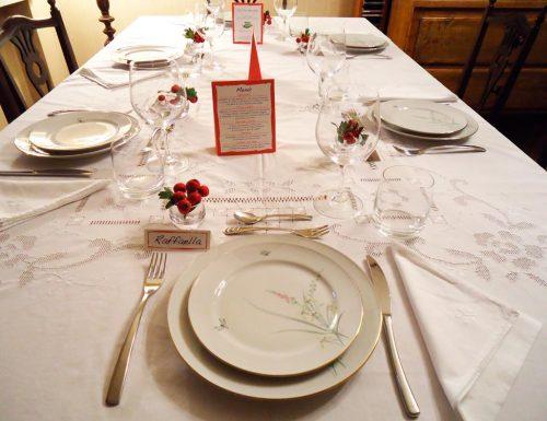 Apparecchiare la tavola per occasioni speciali