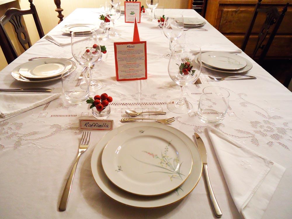 apparecchiare la tavola per occasioni speciali ricette