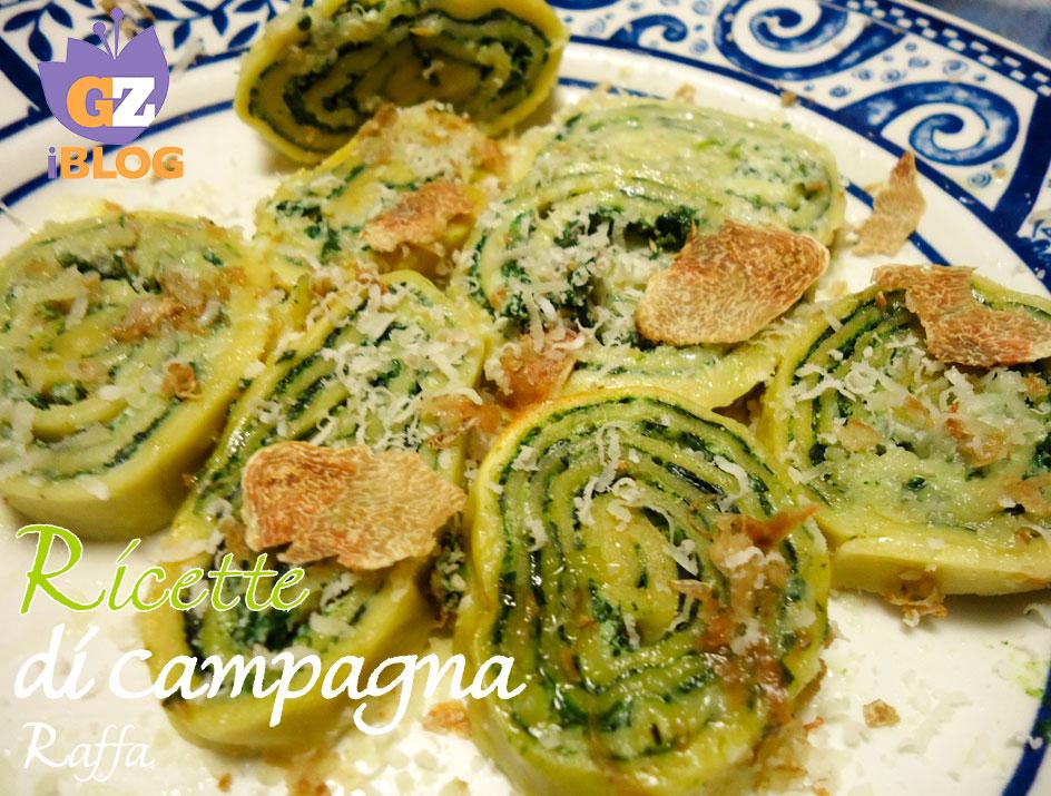 Ricette primi piatti ricotta e spinaci