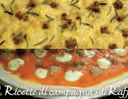 Pizza di farro con lievito madre