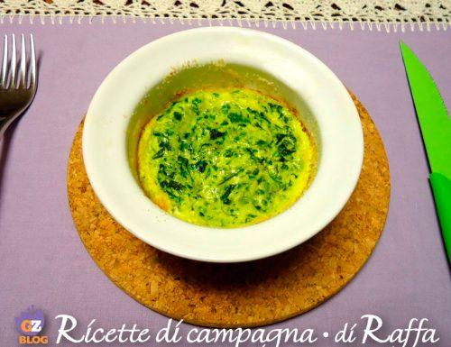 Frittatine di spinaci in cocotte