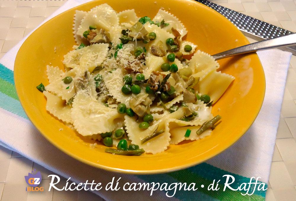 Pasta asparagi e carciofi ricette