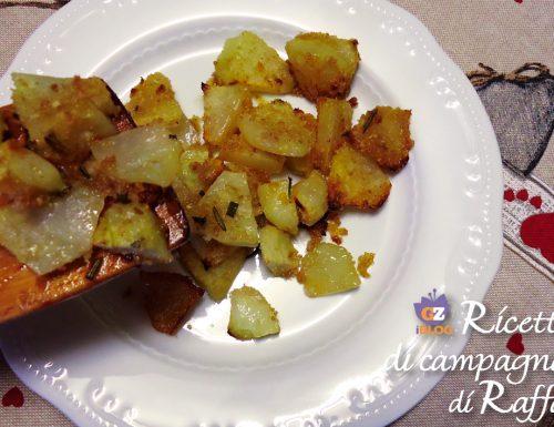 Zucca spinosa gratinata con zenzero e salsa di soia