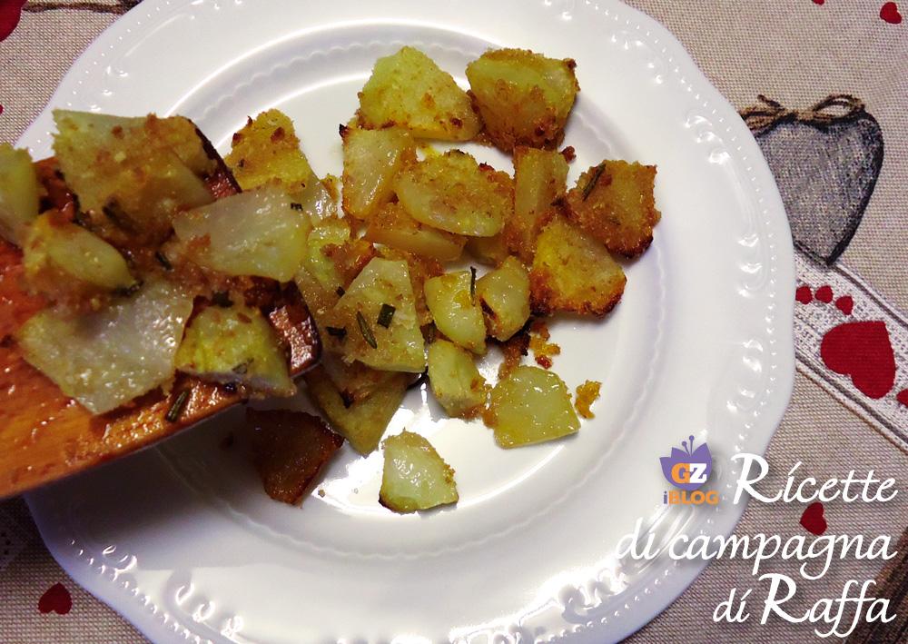Zucca spinosa gratinata con zenzero e salsa di soia - piatto