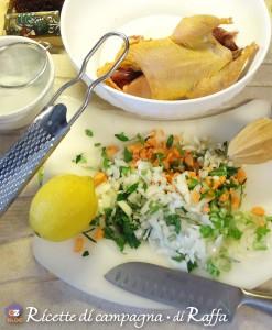 Fagiano in salmì - ingredienti