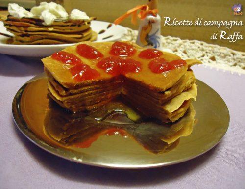 Pancakes alla farina di marroni