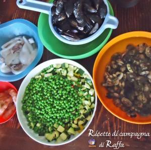 fideuà di Candia con salsa aioli - ingredienti