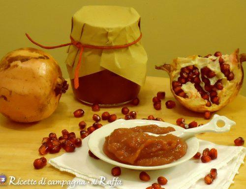 Confettura di mela cotogna e melagrana