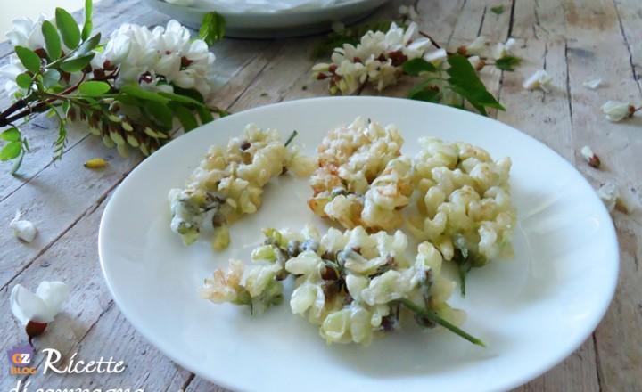 Fiori di acacia in tempura – videoricetta