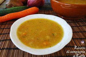 Crema rustica di verdure di stagione